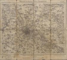 Karte des Deutschen Reiches 1:100 000 - 424. Breslau