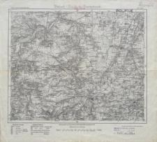 Karte des Deutschen Reiches 1:100 000 - 414. Zeitz