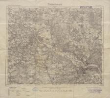 Karte des Deutschen Reiches 1:100 000 - 417. Dresden