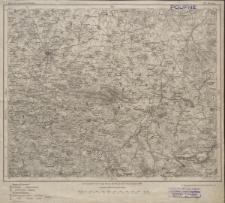 Karte des Deutschen Reiches 1:100 000 - 419. Bautzen