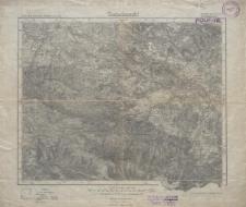 Karte des Deutschen Reiches 1:100 000 - 447, 472. Hirschberg in Schl., Schneekoppe