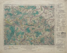 Karte des Deutschen Reiches 1:100 000 - 448. Waldenburg in Schl.