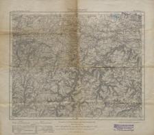 Karte des Deutschen Reiches 1:100 000 - 465. Ilmenau