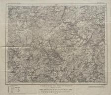 Karte des Deutschen Reiches 1:100 000 - 481. Hillesheim