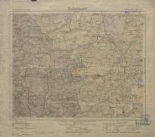 Karte des Deutschen Reiches 1:100 000 - 479. Woischnik Koziegłowy