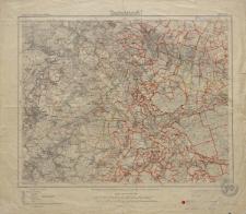 Karte des Deutschen Reiches 1:100 000 - 499. Cosel