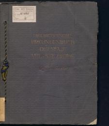 Urkundenbuch der Stadt Münsterberg in Schlesien, Tl. 2, 1317 bis 1337