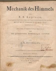 Mechanik des Himmels. Tl. 2