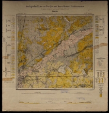 Geologische Karte 1:25 000 - 2762 Kunitz