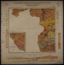 Geologische Karte 1:25 000 - 2944, 3006 Wigandsthal-Tafelfichte
