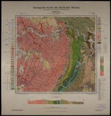 Geologische Karte 1:25 000 - 3010 Kupferberg