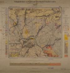Geologische Karte 1:25 000 - 3191 Camenz