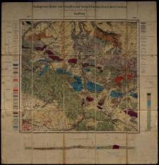 Geologische Karte 1:25 000 - 2948 Kauffung