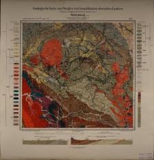 Geologische Karte 1:25 000 - 3073 Waldenburg