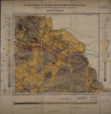 Geologische Karte 1:25 000 - 3354 Katowitz-Birkental