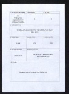 Vorschriften für die Studierenden, 7.08.1934 - 17.12.1936