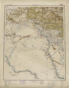 Übersichtsblatt der Operationskarte 1:800 000 - Mosul