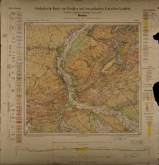 Geologische Karte 1:25 000 - 2549 Muskau