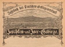 Jahrbuch des deutschen Gebirgsvereines für das Jeschken- und Isergebirge 1915 Jg. 25