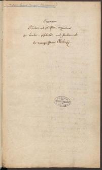 Bücher- und Schriftenverzeichnis zur Landesgeschichte und Staatskunde des Marggrafthstums Oberlausitz