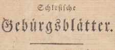 Schlesische Gebürgsblätter. Eine Wochenschrift 1801-09-19 Nr 11 Jg. 1