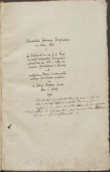 Memorabilia Gorlicensia ecclesiastica von 1234-1563