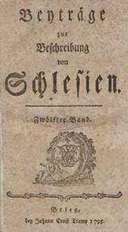 Beyträge zur Beschreibung von Schlesien Bd.12 1795