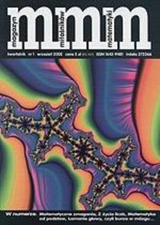 MMM Magazyn Miłośników Matematyki 2002 Nr 1