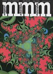 MMM Magazyn Miłośników Matematyki 2003 Nr 4 (5)