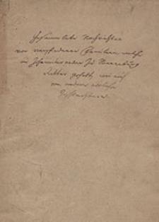 Gesammelte Nachrichten von verschiedenen Familien, welche im Johanniterorden zu Sonnenburg Ritter gehabt, wie auch von andern adelichen Geschlechtern