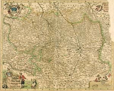 Ober Lausitz entworfen [...] von Johann Georg Schreibern