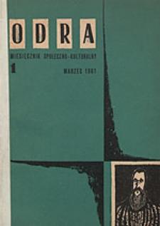 Odra (Wrocław 1961) R.1 Nr 1 marzec 1961 [DjVu]