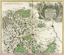 Marchionatus Moraviae Circulus Preroviensis quem mandato caesareo accurate emensus hac mappa delineatum publice exhibet Jo. Chr. Müller [...]
