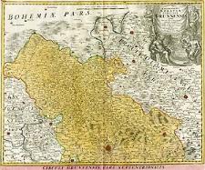 Marchionatus Moraviae Circulus Brunnensis quem mandato caesareo accurate emensus hac mappa delineatum exhibet I. C. Müller [...]