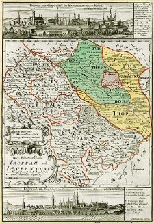 Die Fürstenthümer Troppau und Iaegerndorf, das Königl. Preuss. Anteil gehöret zum Ober-Amt Oppeln