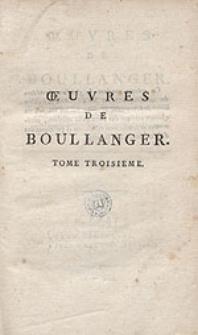 Oeuvres de Boullanger [...]. T.3