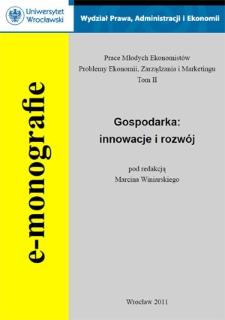 Gospodarka : innowacje i rozwój - Wstęp