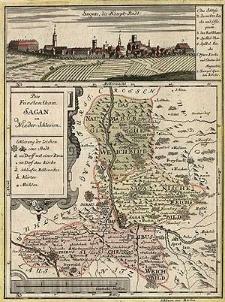 Das Fürstenthum Sagan in Nieder Schlesien
