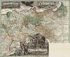 General-Carte der gesamten Königlichen Preussischen Länder