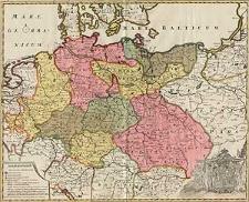 Regni Borussiae et Electoratus Brandenburgici, ceterarumque, quae Friderici Reg. Bor. sceptro reguntur, nec non finitimarum Prov. Delineatio [...]