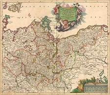 Marchionatus Brandenburgensis in quo sunt Vetus, Media et Nova Marchia et Ducatus Pomeraniae tabula quae est pars septentrionalis Circuli Saxoniae Superioris
