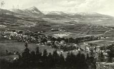Schmiedeberg im Riesengebirge. Gesamtansicht.