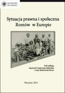 Zarys sytuacji prawnej i społecznej Romóww Europie