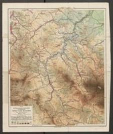 Karte des Waldenburger Berglandes herausgegeben vom Gebirgs-Verein Waldenburg. Blatt Charlottenbrunn