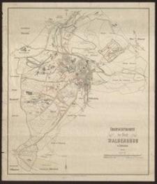 Übersichtskarte der Stadt Waldenburg in Schlesien