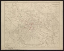 Plan von Breslau und nächste Umgebung