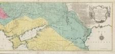 Carte geographique representant le théatre de la guerre entre les Russes, les Turcs, et les Polonois confédérés c'est à dire: les Provinces d'Ukraine, de Nouvelle Servie, de Moldavie, Valachie, Krimée, le Gouvernement de Woronez et d'Astracan, comme aussi la Tartarie de Kuban