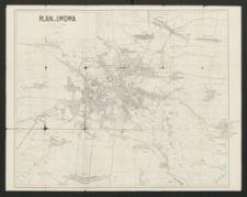 Plan m. Lwowa : według stanu z listopada i grudnia 1918 r.