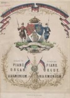 [Two] Polish National Hymns. 1. Boże coś Polskę. 2. Z dymem pożarów. Arranged for piano, organ and harmonium.