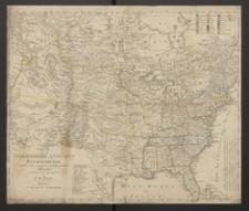 Charte von dem Nordamerikanischen Staatenbunde nach den neuesten vorhandenem Hülfsmitteln [...]